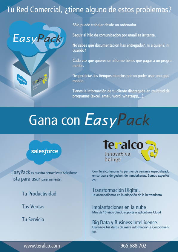 Easy-pack-Teralco-Salesforce-inmobiliarias-promotores